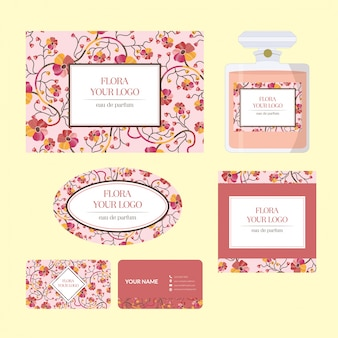 Elements of floral corporate