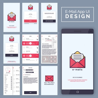 Email mobile application