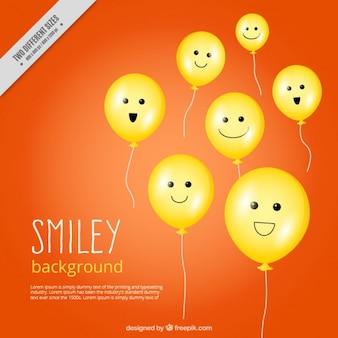 Emoticons background design