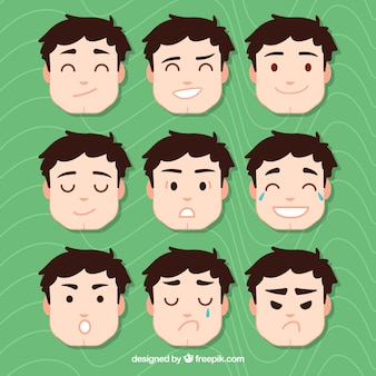Emotion faces pack
