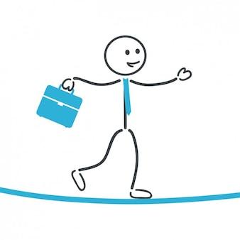 Employee walking design