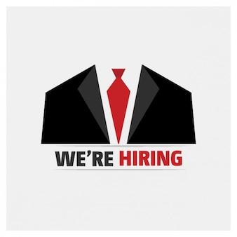 Employment background design