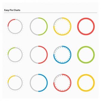 Empty Pie Charts