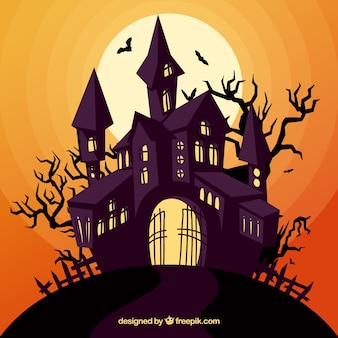 Enchated halloween house