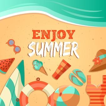 Enjoy summer background