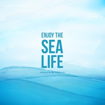 Enjoy the sea life