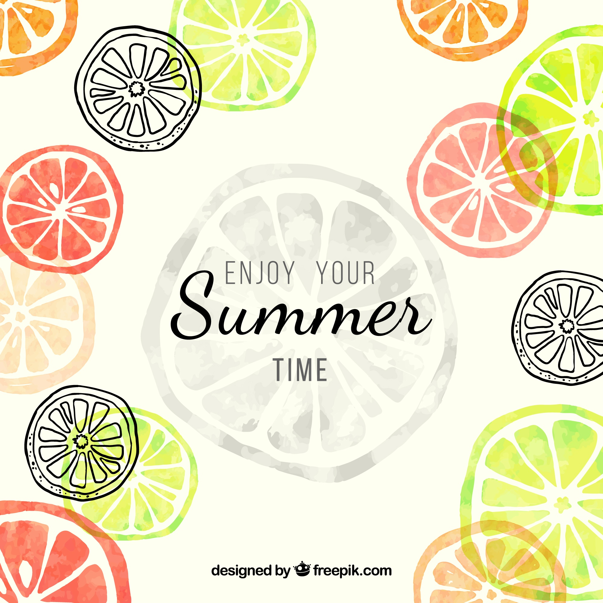 Enjoy your summer time