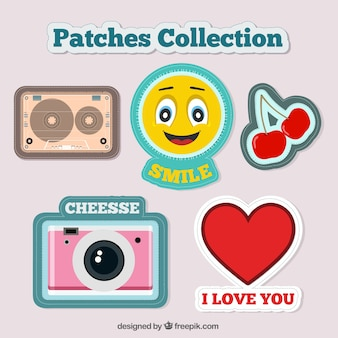 Enjoyable patches pack