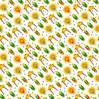 Enjoyable pattern of festa junina