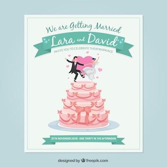 Enjoyable wedding card