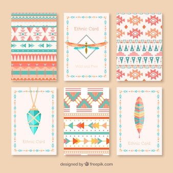 Ethnic card collection