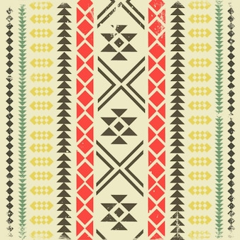 Ethnic geometric background