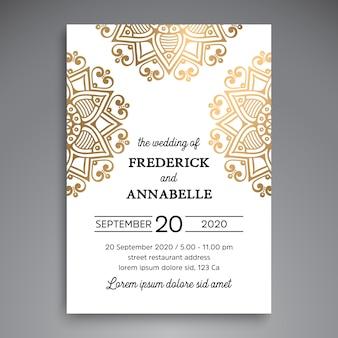 Ethnic luxury wedding design
