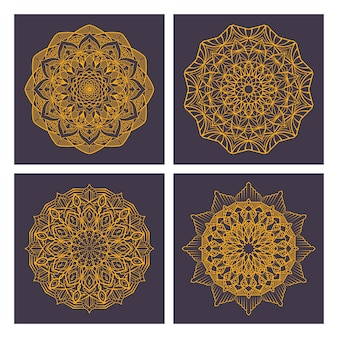 Ethnic ornamental mandalas