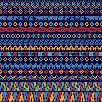 Ethnic pattern of abstract forms