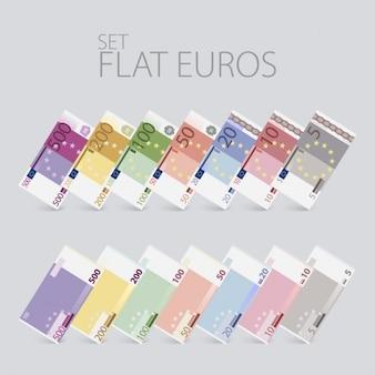Euro notes design