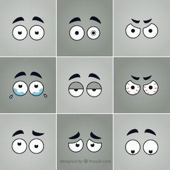 Eyes drawing collection