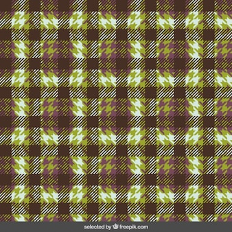 Fabric with houndstooth