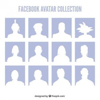 Facebook avatars collection
