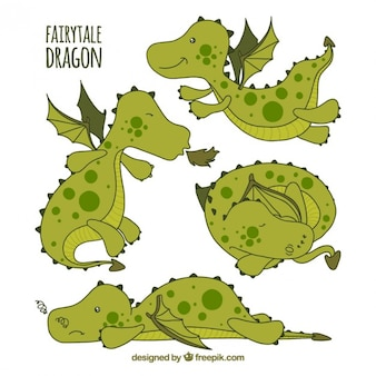 Fairytale dragon
