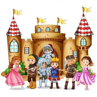 Fairytale scene