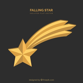 Falling star background