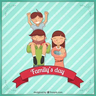 Family Day Background