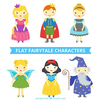 Famous fairy tales characters