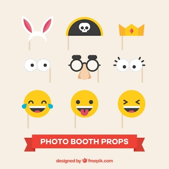 Fantastic accessories for party photo booth