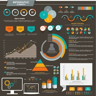 Fantastic business infographic elements