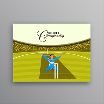 Fantastic card of cricketer