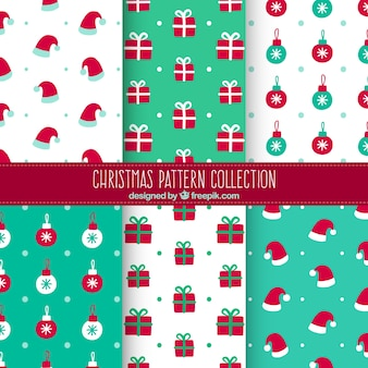 Fantastic christmas pattern collection