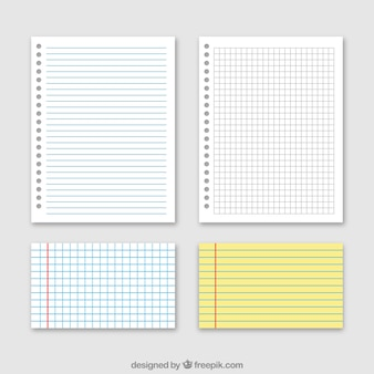 Fantastic collection of paper sheets