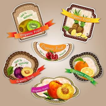Fantastic fruit labels