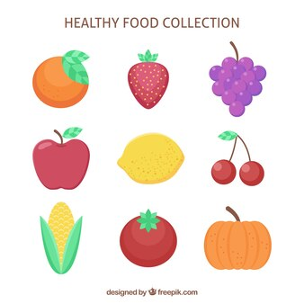Fantastic healthy food collection
