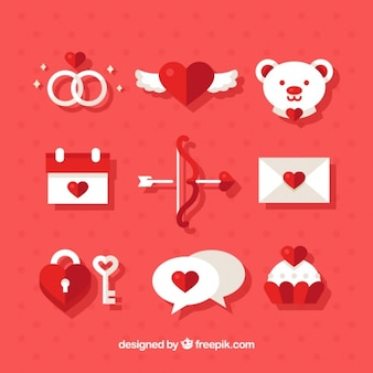 Fantastic objects for valentine's day