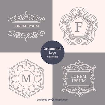 Fantastic pack of decorative ornamental logos