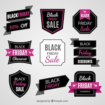 Fantastic pack of sale labels for black friday