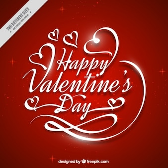 Fantastic red background for valentine's day