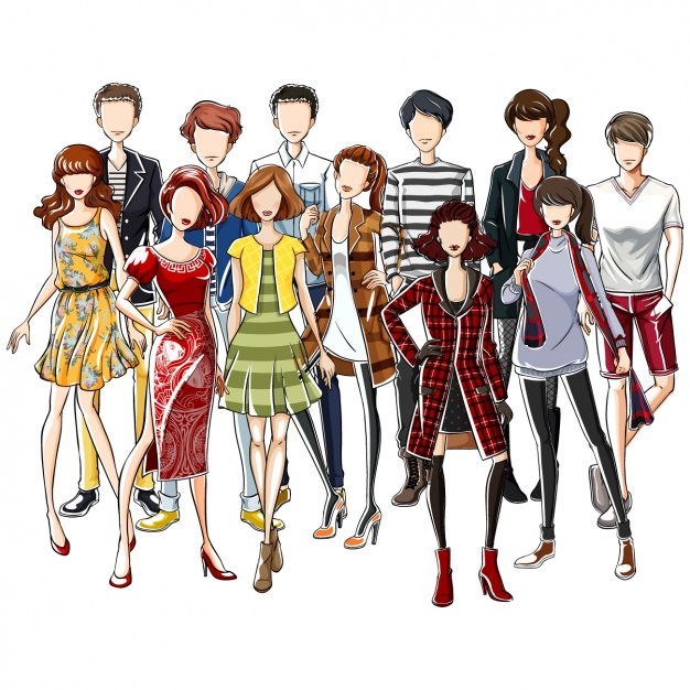 Fashion clothes collection