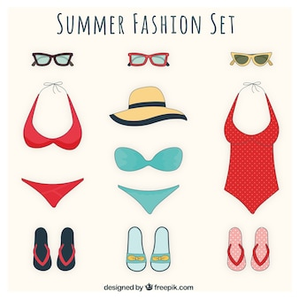 Fashionable women swimsuits