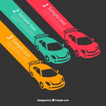 Fast cars infographic