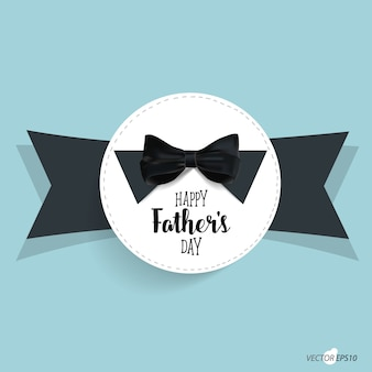 Father's day and bow tie background