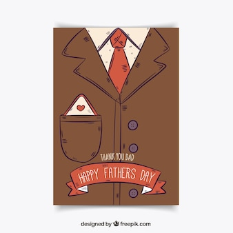 Father's day illustrated card