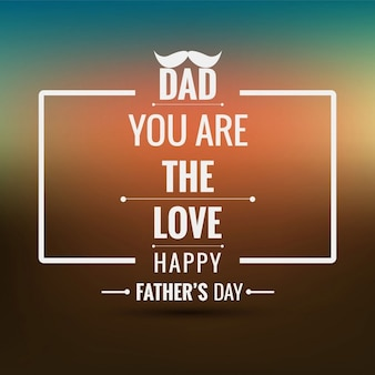 Fathers day colorful background