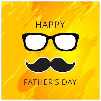 Fathers day hipster card