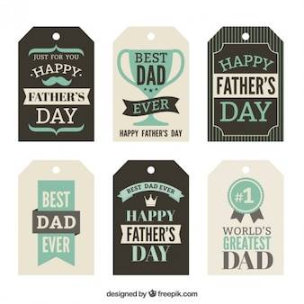 Fathers day tags