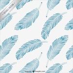Feathers editable pattern
