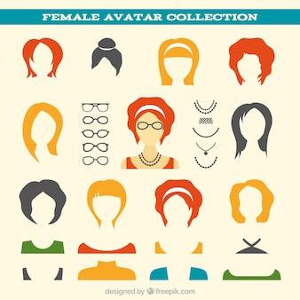 女性アバターコレクション