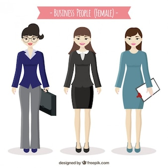 Female business people